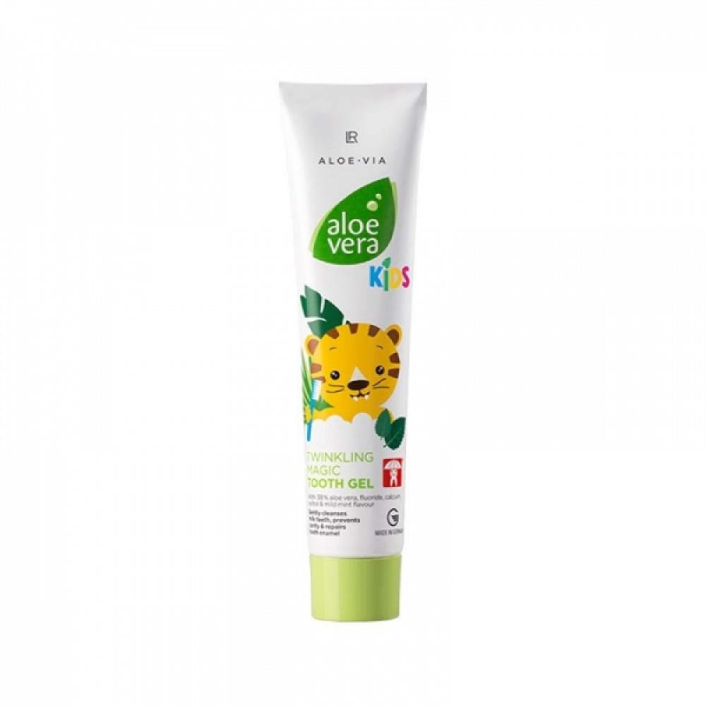 Зубная гель-паста для детей LR Health & Beauty ALOE VIA Aloe Vera Kids, 50 мл, 20329