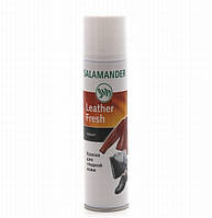 "Краска Черная  для гладкой кожи ""Leather Fresh"" Salamander Германия 250мл"