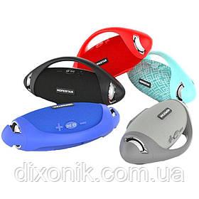 Портативная влагозащищенная колонка HOPESTAR H37 Оригинал Bluetooth USB, FM