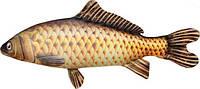 Мягкая подушка рыба карась. 1м20см