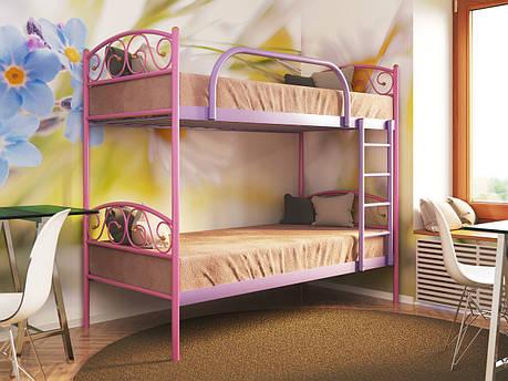 Кровать металлическая двухъярусная VERONA DUO (ВЕРОНА ДУО), фото 2
