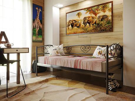 Кровать металлическая DARINA LUX (Дарина люкс), фото 2