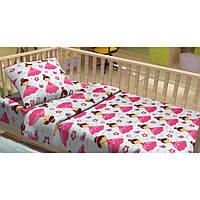 Детское постельное белье для младенцев Lotus фланель - LiLu