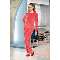 Домашняя одежда Lady Lingerie - Велюровый костюм 15210 XL