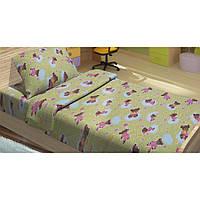 Детское постельное белье для младенцев Lotus ранфорс - BoBi зеленый
