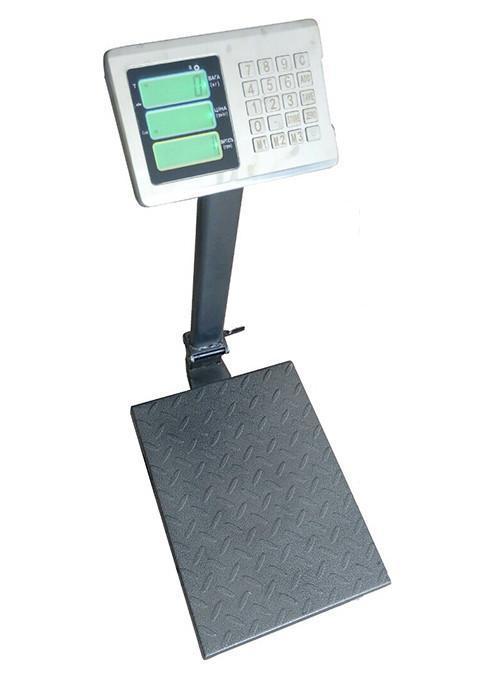 Весы товарные ВПЕ-Центровес-405-150ДВ-Э (150 кг, 300 кг)