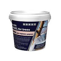 Садова фарба для побілки дерев Donat, відро 1.4 кг.