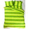 Постельное белье Lotus Ranforce - Metropolis зеленый двуспальное