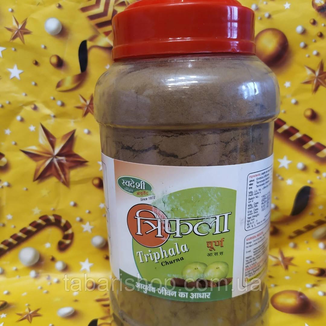 Трифала чурна свадеш, трифала порошок,Triphala Churna Patanjali, 500 гр