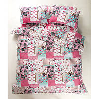 Постельное белье Lotus Ranforce - Sofi розовый двуспальное