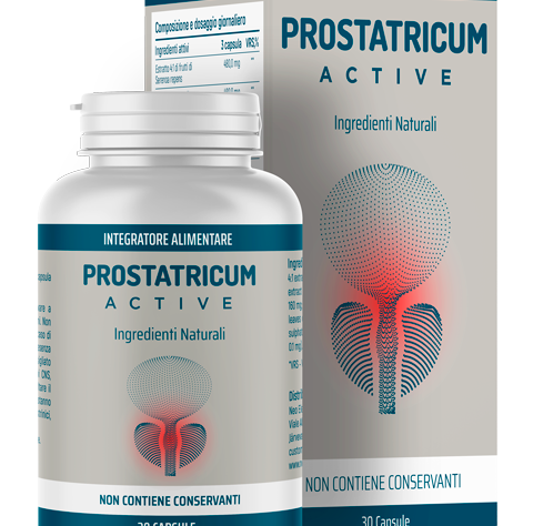 Prostatricum Active (Простатикум Актив) — капсулы от простатита