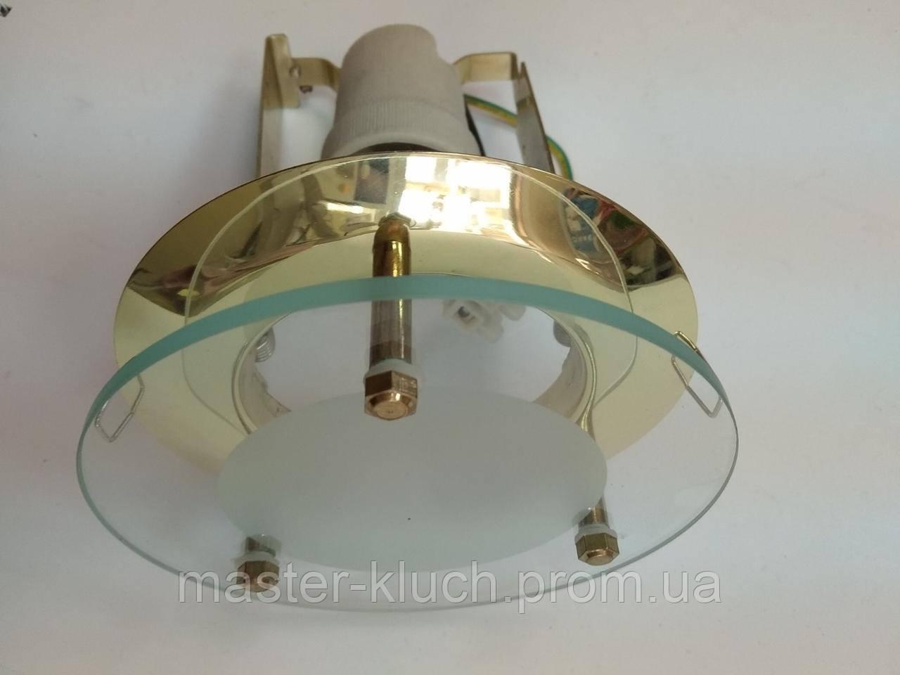 Светильник точечный со стеклом Brilum APRE 63SG