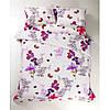 Постельное белье Lotus Ranforce - Helen фиолетовый евро