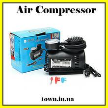 Автомобильный насос компрессор Air Compressor DC-12V / 250 PSI