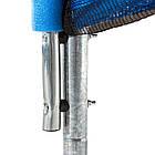 Батут спортивний 183 см Atleto з захисною сіткою до 90 кг, фото 4