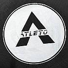 Батут спортивний 183 см Atleto з захисною сіткою до 90 кг, фото 8