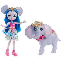 Enchantimals - лялька енчантімалс з слоником (Энчантималс Екатерина со слоном Антиком из серии большие друзья