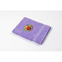 Полотенце кухонное Lotus Sun - Apple сиреневый 40*70