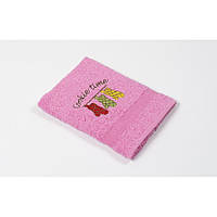 Полотенце кухонное Lotus Sun - Cookie time розовый 40*70