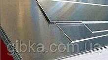 Гладкий лист оцинкованный 1 м*2 м. Толщина металла 0,4 мм