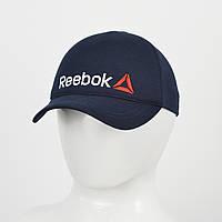 """Бейсболка """"Великий знак"""" Reebok синій+білий, фото 1"""