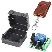 1-канальное беспроводное реле 12В 433МГц, пульт, Arduino