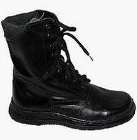 Ботинки (берцы) «ОМОН» женские кожаные Хром