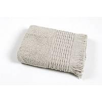 Полотенце Oliva Home - Antik gri серый 50*90