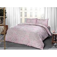 Постельное белье Tac ранфорс - Mirabel pembe розовый евро