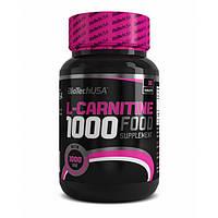 Biotech USA, Карнитин L-Carnitine 1000 mg, 30 таблеток
