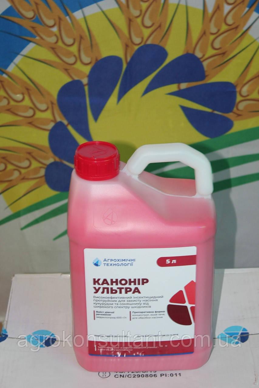 ІНСЕКТИЦИДНИЙ протруйник Канонір Ультра, 5л (аналог Гаучо) імідаклоприд 600г/кг, АХТ