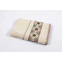 Полотенце махровое Binnur - Vip Cotton 07 70*140 бежевый