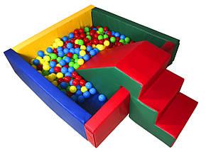 Сухой бассейн с матом 150х40 см Тia-sport, фото 2