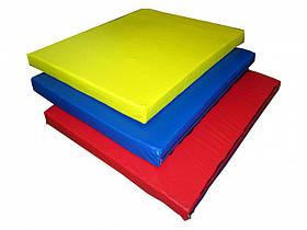 Мат складаний 300-100-10 см з 3-х частин Тіа-sport, фото 2