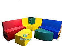 Детский мягкий модульный уголок Тia-sport, фото 2