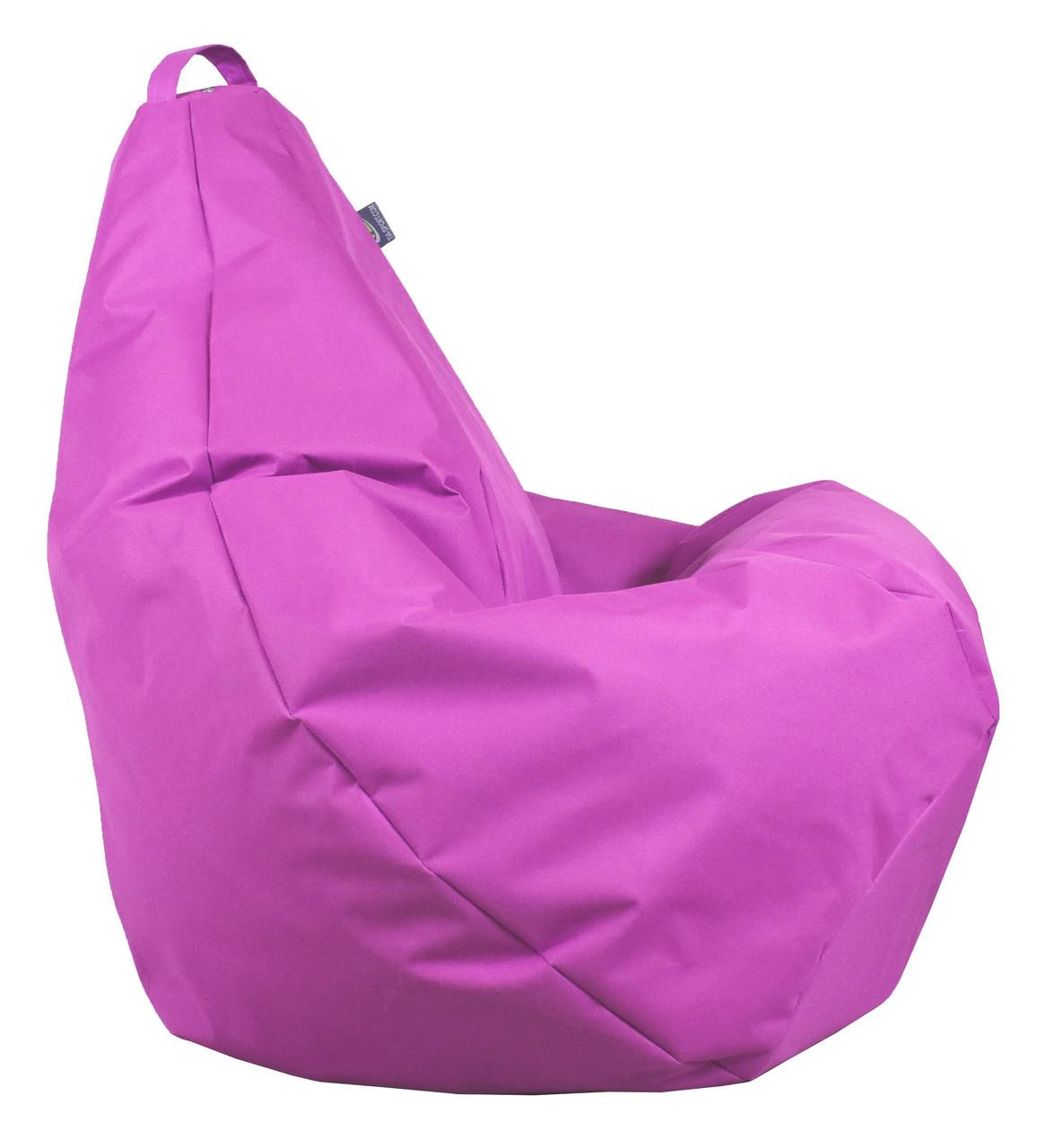 Кресло груша Оксфорд светло Розовый