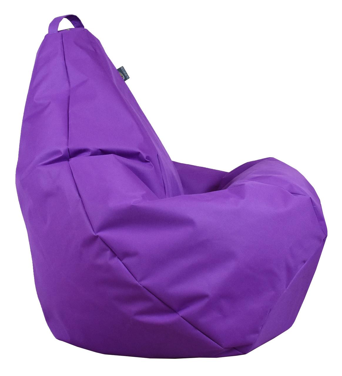Кресло груша Оксфорд Фиолет