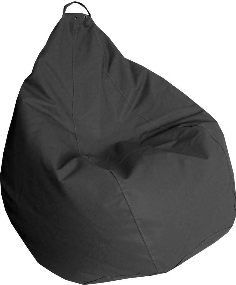 Кресло груша Практик темно Серый