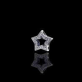 Шарм серебряный Звездочка для браслета Пандора
