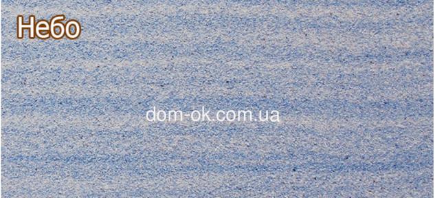 Фасадные панели с мраморной крошкой Антик 960х480 мм, цвет Небо