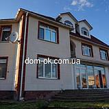 Фасадные панели с мраморной крошкой Антик 960х480 мм, цвет Небо, фото 3