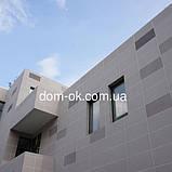 Фасадные панели с мраморной крошкой Антик 960х480 мм, цвет Небо, фото 4