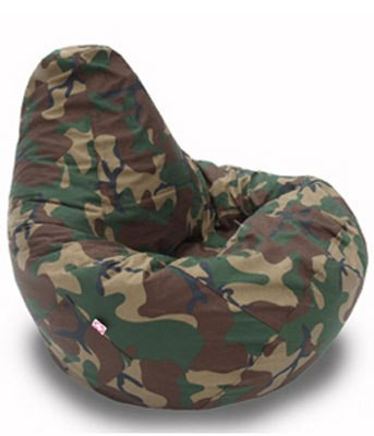 Кресло груша Оксфорд хаки