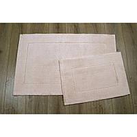 Набор ковриков Irya - Vega pudra пудра 60*100+40*60