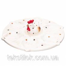 Тарелка для яиц Курочка  Пасхальный декор