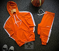 Спортивный костюм мужской осенний весенний с лампасами х orange ТОП качества, фото 1