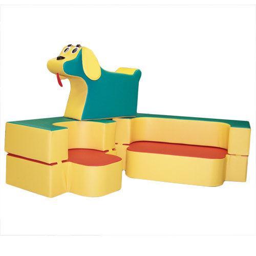 Диван-трансформер с игрушкой Песик