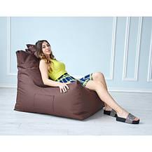 Бескаркасное кресло Барселона однотонное Оксфорд, фото 2