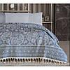 Покрывало Irya - Evonne blue голубой 240*250