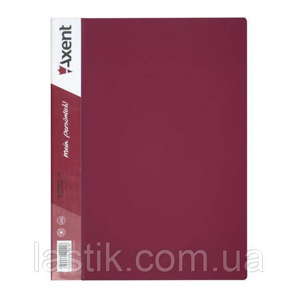 Дисплей-книга 10 файлів. (колір бордовий)